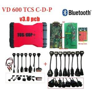 VD600 with bluetooth v3.0 pcb OBD2 scanner VD TCS C-D-P 2020R0 keygen obd diagnostic tool for delphis car truck fast ship
