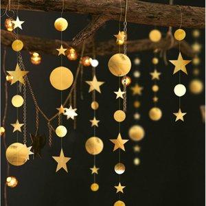 4M Twinkle flocon de neige en papier Guirlandes Pendentif Ornements Décorations de Noël pour la maison New Year Party 2020 Noel Accessoires Navidad