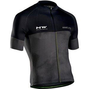 2019 Pro Team manica corta Estate In bicicletta Jersey NW Uomo Camicia Maillot Ropa Ciclismo MTB Road Bike Ciclo Tops Abbigliamento