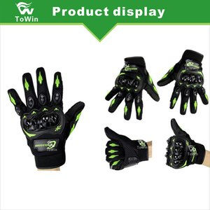 Moto Knight Protection Full Finger Gants Racing Hors-route Riding Electric Vehicle Écran Tactile Vélo Gants Vélo New Gros
