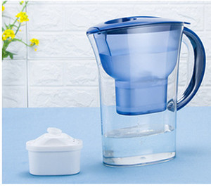 Alkaline Water Pitcher Ionizer Long-Life Filters - Water Filter Purifier Filtration System Portable Water Purifier Activated Carbon Filter
