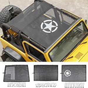 Зонт может блокировать солнечный свет автомобиля стандарт для Jeep Wrangler TJ 1997-2006 Высокое качество Авто Экстерьер аксессуары