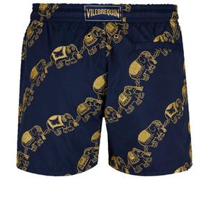 Vilebre мужчины купальники HERRINGBONES черепахи новые летние повседневные шорты мужская мода стиль Мужские шорты бермуды пляжные шорты 50296