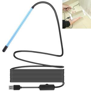 3 em 1 USB WiFi Ear Scope Inspeção HD 0.3MP Camera Visual Ear Spoon, comprimento do cabo: 2m