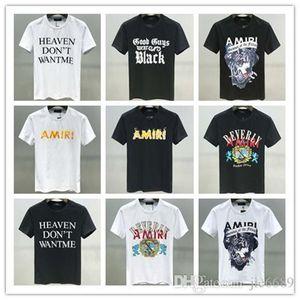 Men's luxury T-shirt 2020ss spring and summer T-shirt mixed letter printing classic fashion elegant men's T-shirt M-3XL614
