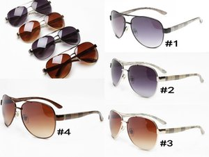 10pcs, 25-26 sunglasses UK royal brand designer fashion style big frame sun glasses female male driving goggle mirror glasses wholesale