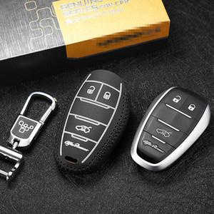 For alfa romeo giulia 2017 alfa romeo stelvio 2017 Brand New High Quality leather remote key Case Cover Holder car accessories