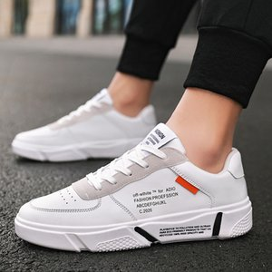 Мужская обувь 2020 Весна новый стиль Low Top Sneakers H811 Мода Versatile Повседневная обувь Белый корейском стиле Athletic