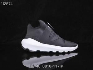 Casual Shoes Y3 QASA RACER Hight Sneakers traspirante Uomini e pattini casuali delle donne Coppie Y3 esterna formatori Dimensioni Eur40-44 Free shipping