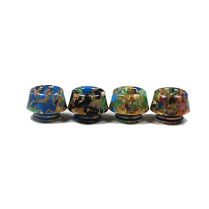 Mashroom 810 Resin Drip Tip Blink Mouthpiece Wire Bore Tips Honeycomb 510 For TFV12 Prince and TFV8 X Big Baby