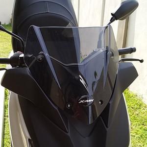 Moto modifié Xmax déflecteurs d'air pare-brise-glace pare-brise bord pour xmax 300 250 2017 2018