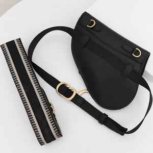 Hoher Grad Black Cow Ledergürtel Neue Satteltaschen Schulter Messenger Bag Satteltasche Retro Handy-Beutel Schnalle breiten