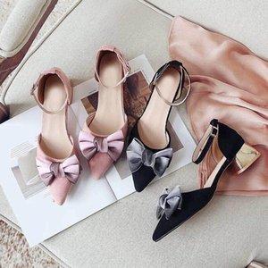 Hot Sale-3A Women High Heel Shoes European Brand Designer Chunky Shoes Genuine Leather Comfortable Footwear Ladies