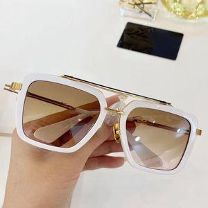 New luxury sunglasses men design metal vintage sunglasses women fashion style square frameless UV 400 lens with original case fgjjfhdf