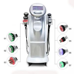 2019 New 80K +40k Ultrasonic cavitation vacuum Multipolar body face RF frozen ultrasonic wave beauty slimming machine
