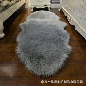 Nordeuropa Will ähnlichen Stoff Teppich Schlafzimmer Nachtdecke Wohnzimmer Couchtisch Teppich Dekorative Decke Haar Plüsch