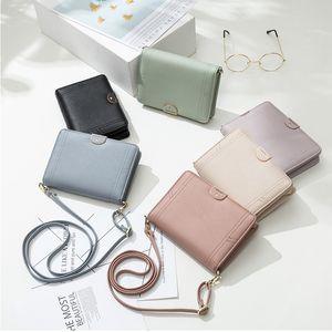 Tasarım Küçük Messenger Bag Kadın Deri Crossbody Çanta İçin Kadınlar Omuz Küçük Çanta Lady Cüzdan Telefon Brief