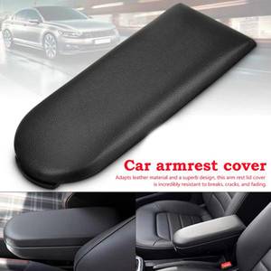 New Car Styling Facile da installare Bracciolo copertina Center Console ABS + Leather bracciolo Lid Bracciolo Box di stoccaggio coperchio di copertura automatica