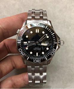 2020 uomini caldi di orologio 600 SEA 212.30.41.20.01.005 Matser 41MM quadrante di James Bond 007 orologi originali della cinghia meccanici automatici.