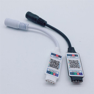 Wifi Mini RGB Bluetooth Contrôleur DC 5V 12V 24V Mini Bluetooth Music Light Controller bande contrôleur pour RGB LED RGBW bande