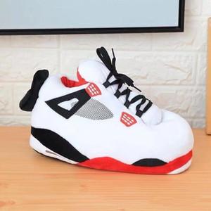 Unisex tamanho grande 35-43 Snug Sneakers Mulheres Casa Chinelos mulheres / homens inverno quente Chinelo Senhoras slides um Tamanho Shoes MX200425
