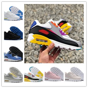 Top 90S Chaussures de course Chaussures de sport Hommes Femmes 90S Chaussures causales Blanc Infrarouge South Beach Triple Noir Outdoor Athletic Sneakers