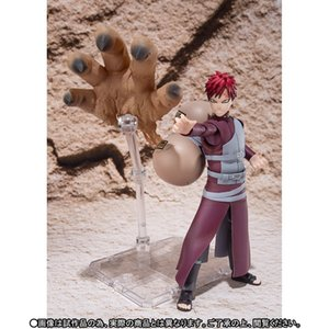 New hot sale NARUTO Shippuden SHF Kazekage Sabaku no Gaara GK Gaara 14CM PVC gift for children free shipping