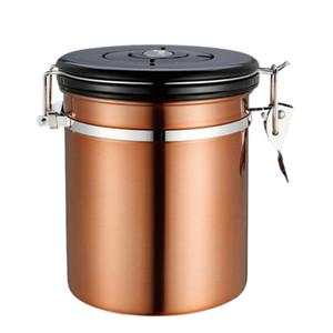 1.5L ermetico contenitore caffè bagagli Canister Set per terra chicchi di caffè Spezie Container Caddy Utensili da cucina