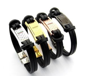 15mm uomini di lusso cinturino cinturino in oro placcato cinturini in acciaio inossidabile polsini bracciale gioielli regalo 21 cm