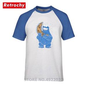 T-shirt col rond manches courtes Cookie Moon pour hommes Conception de monstres Cookie T-shirt Vente chaude famille fête d'anniversaire Tshirt Camiseta