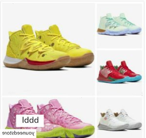 2019 newest colors Kyrie Shoes Basketball Shoes 5 20th Anniversary Sponge x Irving 5s V Five Mens Sports Sneakers 37