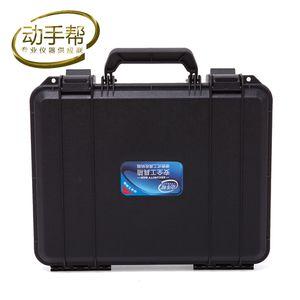 330x250x90mm ABS Ferramenta de mala caso toolbox resistente ao impacto bin caso de segurança selado kit equipamentos Hardware frete grátis