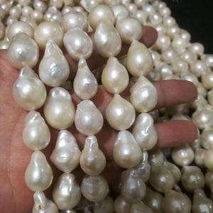 Atacado de alta Qulaity 13-18mm nucleadas Natural Irregular Big barroco água doce solta pérola Beads Strand para DIY Colar Pulseira Fazer