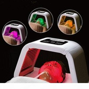 4 Color LED Light machine LED Photon Therapy Mask PDT light For Acne Freckle Removal Detachable Beauty salon use