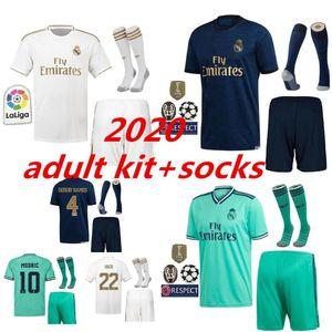 2019 2020 Real Madrid Soccers Jersey HAZARD home away 3rd men soccer shirt ASENSIO ISCO BALE madrid 19 20 adult kit Football uniforms