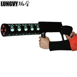 무료 배송 Pro DJ 장비 고스트 LED CO2 Cryo Club 대원 저온 특수 효과 총 Co2 제트기 LED Cryo 건