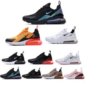 270c de diseño Aire zapatos corrientes de los hombres de las mujeres zapatillas de deporte los deportes masculino atlético Triple Negro Blanco Zapatos para caminar al aire libre 36 45