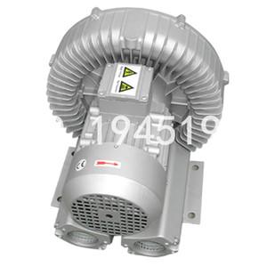 EXW 2RB510-7AH36 2.2kW / 2.55kw 3AC büyük hava akış balık, karides, su birikintisi tarım hava halka üfleyici / vakum pompası / turbo vantilatör / kompresör