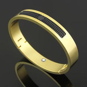Марка Bijoux из нержавеющей стали розового золота Монт браслеты для женщин смолы манжеты браслеты подлинной титана стали мужские браслеты для мужских браслетов