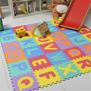 Baby Crawling Eva Foam Mat Children Stitching Early Education Mat Digital Alphabet Animal Traffic Style Foam Mat