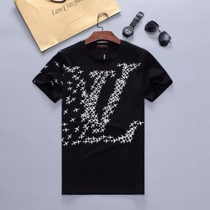 2020 erkek tasarımcı tişörtleri sıcak marka t shirt erkekler kadınlar Için kısa kollu Tee gömlek lüks Giyim mektup desen baskılı Tees ekip boyun