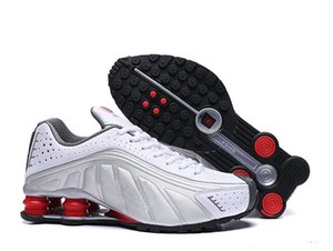 Shox Running Shoes For Men Women Zapatillas Hombre Breathable leather Mens Trainers Athletic Sneakers size 40-46