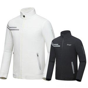2020 Spring Autumn Men Golf Jackets Coat Waterproof Slim Fit Jacket For Paddling Water Sports Men Male Windproof Sport Golf Sportwear D0656
