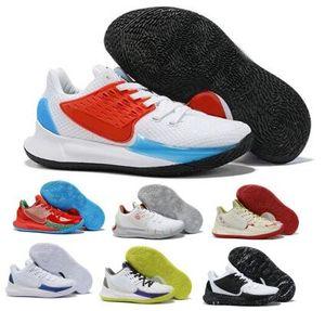 Mens Kyrie Low 2 tênis de basquete Sneakers Esponja Seu Siriguejo Sandy Bochechas Squidwards azuis 2020 Formadores New Arrival Zapatillas Designer Shoes