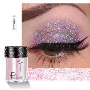 Holographic Pailletten Glitzer-Schimmer-Diamant-24 Farben-Augen-glänzende Haut Highlighter Gesicht Körper Glitter Festival Makeup