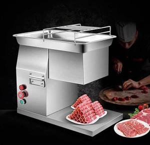 Nova Chegada 400 KG / H Slicer Comercial Máquina Cortador Desktop Elétrica Máquina De Corte De Carne De Corte Preço