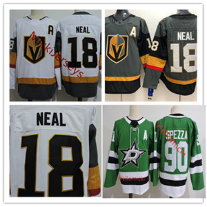Desconto Mens 90 Jason Spezza Dallas Stars Jersey # 18 James Neal Vegas Golden Knights Inaugural Temporada Patch Jersey S-3XL