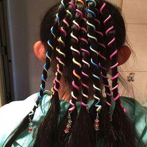 Bonito spin Fashion Girls Crianças espiral Hairpin Cabelo Curler DIY menina miúdos trança Acessórios de cabelo