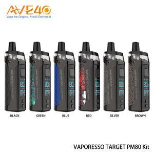2000mAh batarya 4 mi Hedef PM80 Pod GTX Mesh Rulo Orijinal Vaporesso Hedef PM80 Kiti 80W