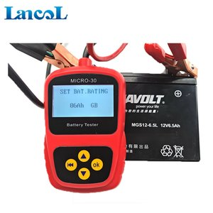 -High Class Accurate Indicação Cranking CCA Checker Motorcycle Battery Tester Micro-30